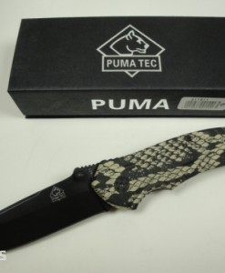 PUMA TEC Folding Pocket Knife Snake Skin Design