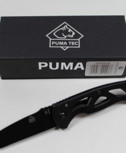 PUMA TEC Folding Pocket Knife With Tanto Blade