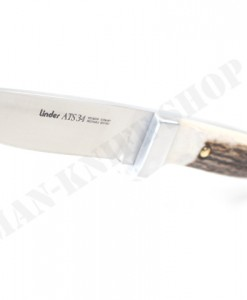 Linder Germany ATS 34 Custom knife