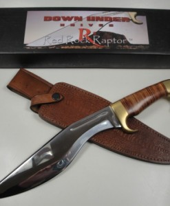 Down Under Knives Model Red Rock Raptor