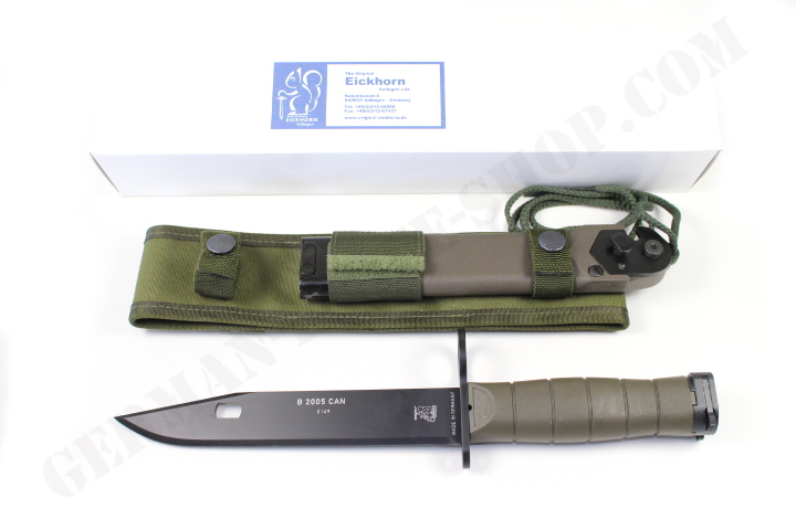 Eickhorn Bayonet B2005can Incl Sheath German Knife Shop