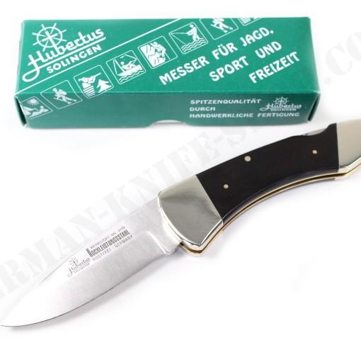 Hubertus Folding Knife Ebony Wood # 14400.EH.02 001
