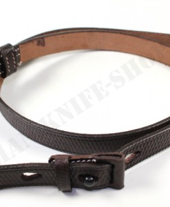 K98 leather sling with loop