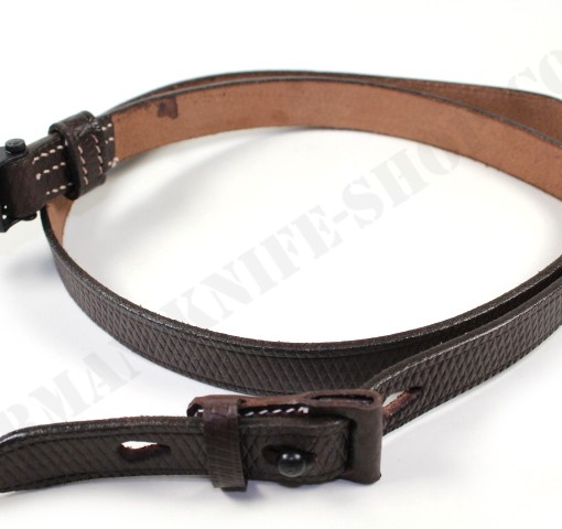 K98 leather sling with loop 001