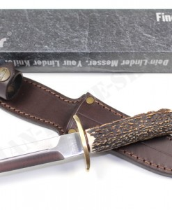 LINDER Knives DAGGER WITH STAG HANDLE