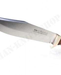 LINDER DELUXE BOWIE KNIFE WITH COCOBOLA HANDLE