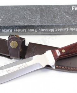 LINDER TRAPPER HUNTING KNIFE WITH COCOBOLA HANDLE
