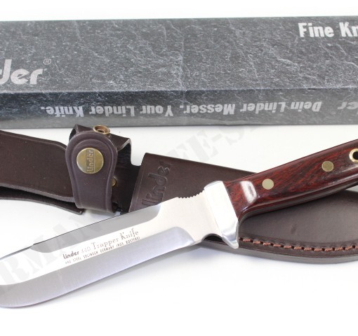 LINDER TRAPPER HUNTING KNIFE WITH COCOBOLA HANDLE 003
