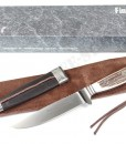 Linder Germany ATS 34 Hunting Nicker Stag Knife
