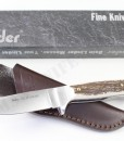 Linder ATS34 Custom Stag Knife