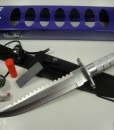 Linder Bowie Knife With Compass & Survival Kit