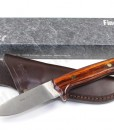 Linder Knives Hunting Knife With Leather Sheath