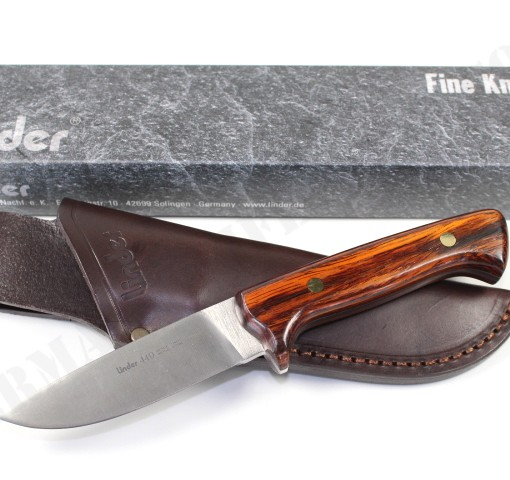 Linder Hunting Knife With Leather Sheath 144210 003