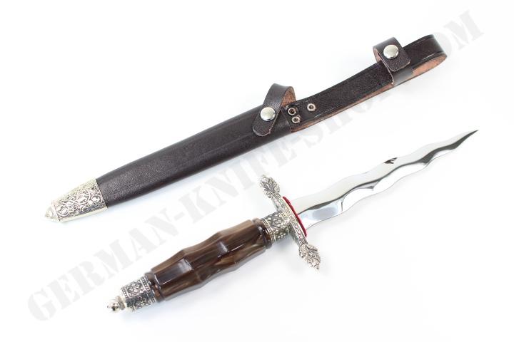 Linder Kris Blade Dagger With Perlex Handle German Knife
