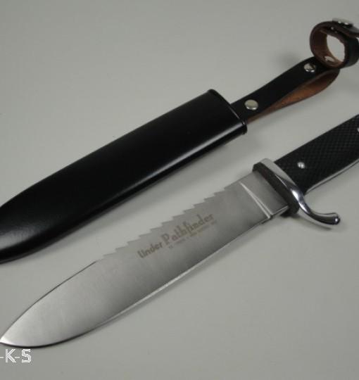 backsaw. linder pathfinder knife with back saw \u0026 metal sheath2 backsaw