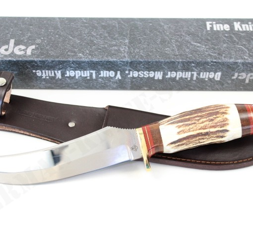 Linder Skinner Knife With Carbon C60 Blade 185115 004