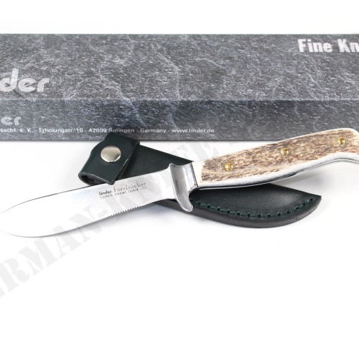 Linder Stag Forest Forstnicker Knife 165812 003