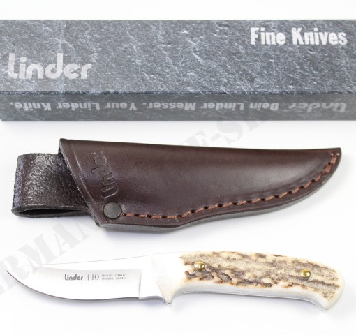 Linder Stag Skinner Knife # 120206 001