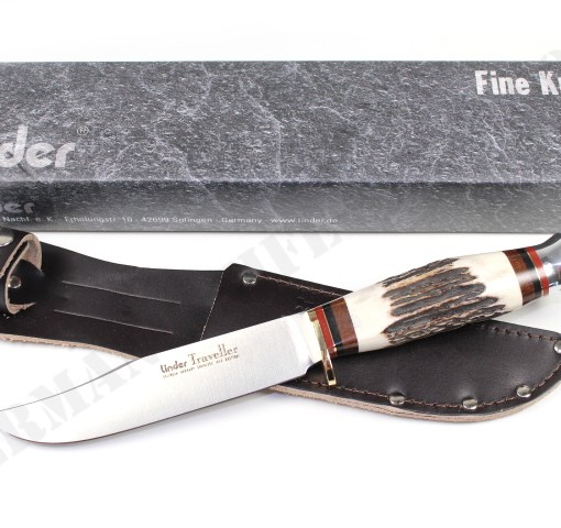 Linder Traveller II Hunting knife 190113 004