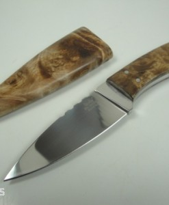 Linder Unique Hunting Knife Walnut Handle