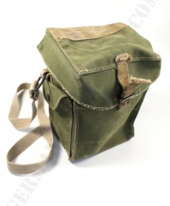 Original WWII. british-danish gas mask bag