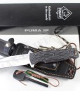 PUMA IP chispero micarta with fire starter