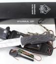PUMA IP chispero micarta with fire starter