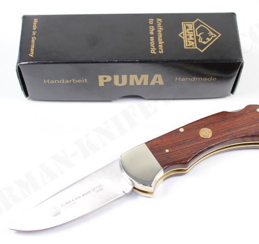 Puma 4-Star Cocobola Wood # 220705 001