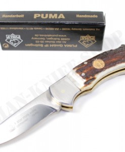 Puma Germany 4-Star Mini Stag Folding Knife
