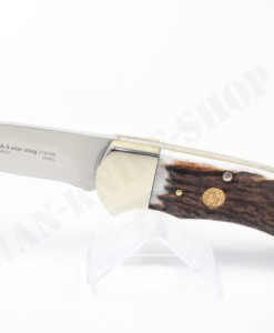 Puma Knives Germany 4-Star Stag Folding Knife