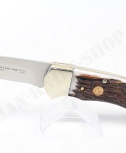 Puma Knives Germany 4-Star Stag Folding Knife