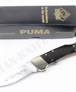 Puma Germany Custom Ebony Folding Knife