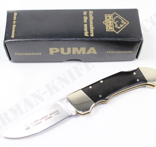Puma Custom Ebony Folding Knife # 220985 001