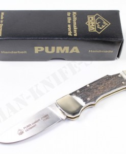 Puma Germany Custom Stag Folding Knife
