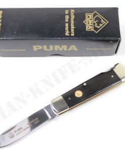 Puma Ebenholz Ebony Pocket Knife