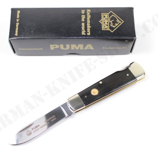 Puma Ebenholz Ebony Pocket Knife # 222021 001