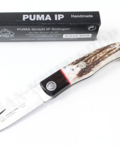 Puma IP Carabo Stag Folding Knife