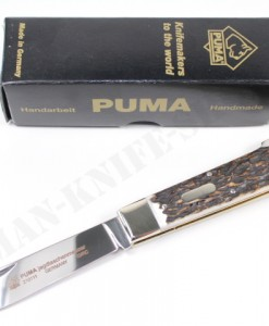 Puma Knives Jagdtaschenmesser 1 Hunting Stag Folder