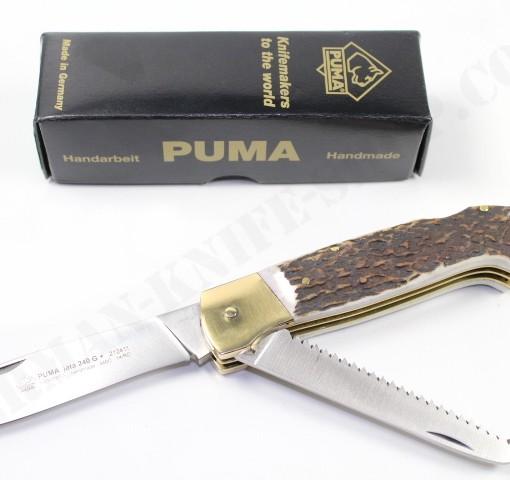 Puma Jata 240 G With Saw Folding Knife # 212411 001