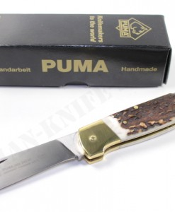 Puma Jata 240 M Stag Folding Knife