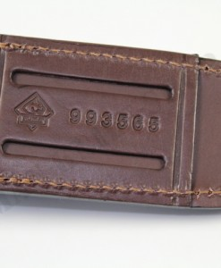 Puma Leather Pouch Brown