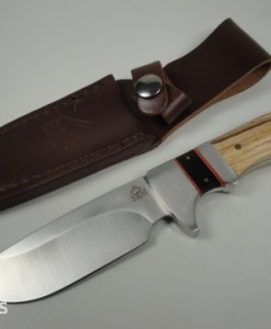 Puma Tec Bowie Hunting Knife With Zebra Wood