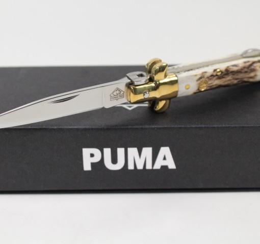 Puma Tec Stiletto Folding Pocket Stag