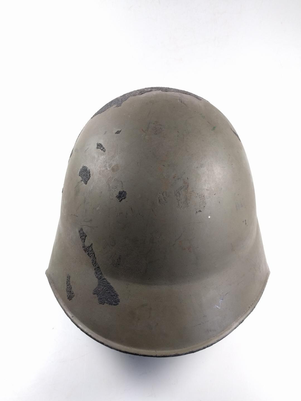 Swiss Army Steel Helmet Model M18 Included Chin Strap