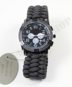 Chronograph Paracord Watch