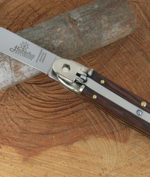 Hubertus Switchblade Springer Knife Medium Rosewood 68.110.HZ.10