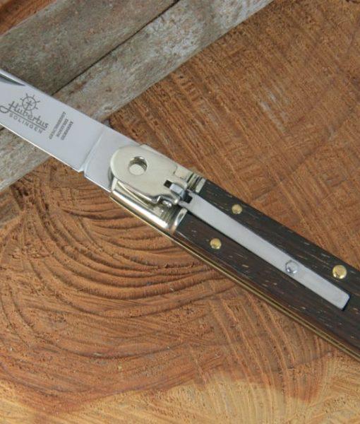 Hubertus Switchblade Springer Knife Small Slim Rosewood