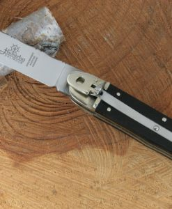 Hubertus Switchblade Springer Knife Classic Ebony for sale