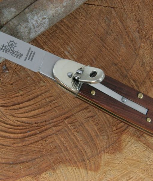 Hubertus Switchblade Springer Knife Oval Rosewood