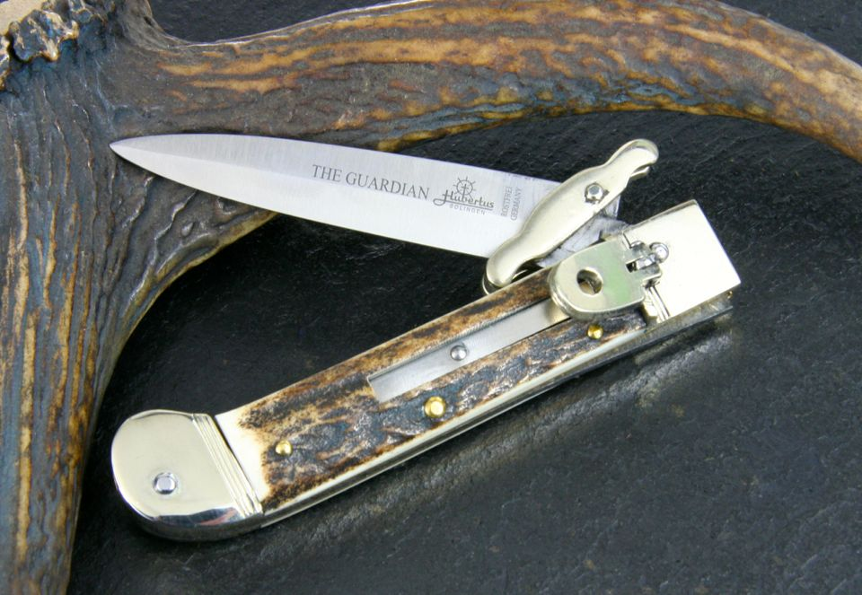 Hubertus Special Pocket Knife The Guardian Stag